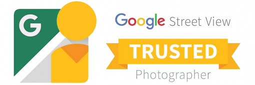Google street view trusted photographer logo